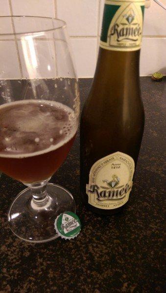 Cerveja belga Ramée Ambrée - Receita de Viagem