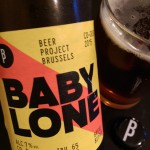 Cerveja de Quinta: Baby Lone do Beer Project Brussels