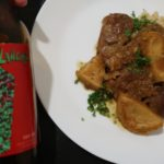 Cooking with Beer: Ragoût d'Agneau aux Artichauts et Avalanche Red IPA