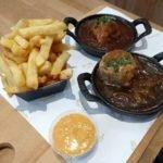Onde comer almôndega tradicional belga: Ballekes